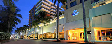 The Hilton Bentley South Beach